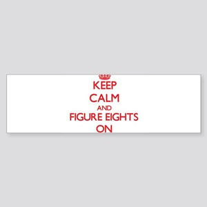 Figure Eights Bumper Sticker
