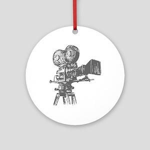 movies film 76-Sev gray Ornament (Round)