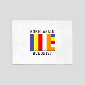 Born Again 5'x7'Area Rug