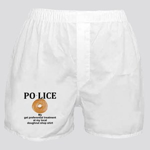 My Police thingy Boxer Shorts