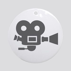 movies film 83-Sev gray Ornament (Round)