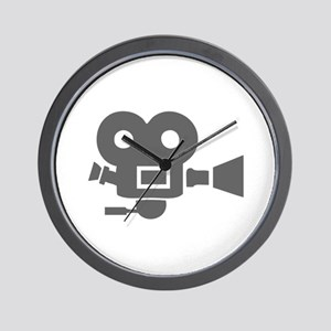 movies film 83-Sev gray Wall Clock