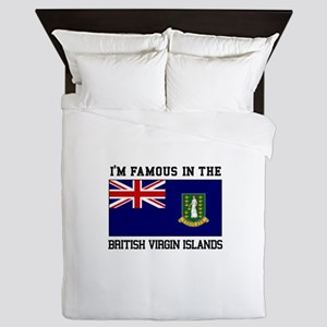 I'M famous in the British Virgin Islands Queen Duv