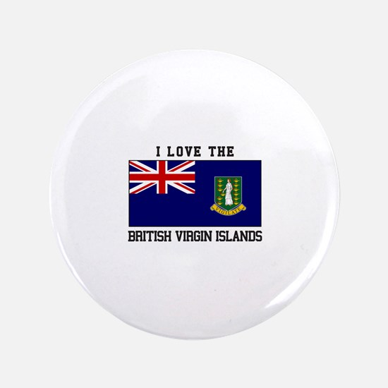 I love the British Virgin Islands Button
