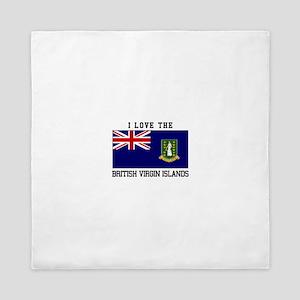 I love the British Virgin Islands Queen Duvet
