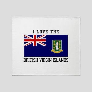 I love the British Virgin Islands Throw Blanket
