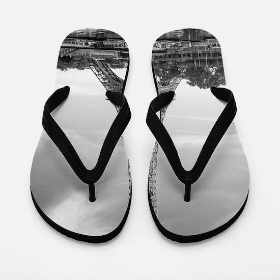 Eiffel Tower Flip Flops