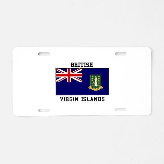 British Virgin Islands Aluminum License Plate