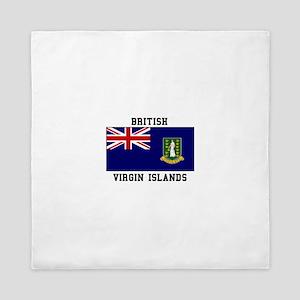 British Virgin Islands Queen Duvet