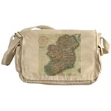 Irish Canvas Messenger Bags