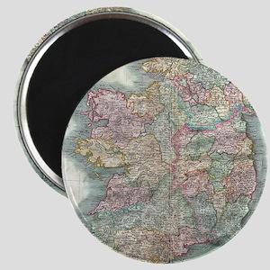 Vintage Map of Ireland (1799) Magnet