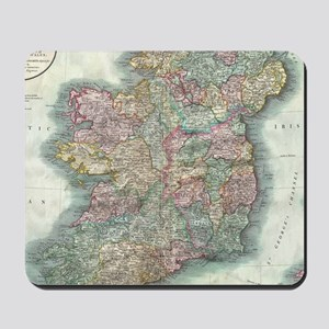 Vintage Map of Ireland (1799) Mousepad