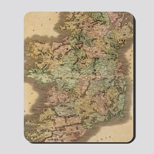 Vintage Map of Ireland (1831) Mousepad