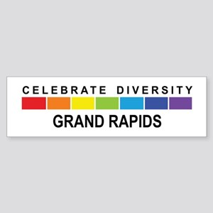 GRAND RAPIDS - Celebrate Dive Bumper Sticker