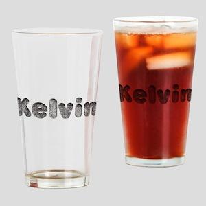 Kelvin Wolf Drinking Glass