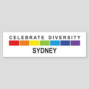 SYDNEY - Celebrate Diversity Bumper Sticker
