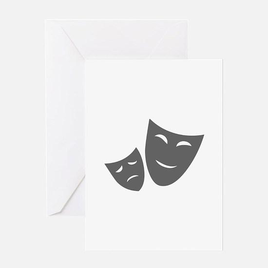 movies film 99-Sev gray Greeting Cards
