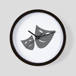 movies film 99-Sev gray Wall Clock