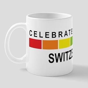 SWITZERLAND - Celebrate Diver Mug