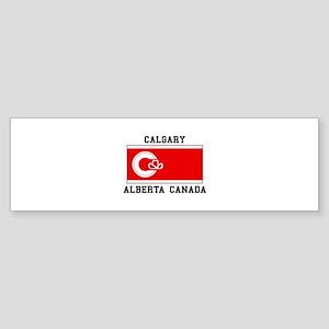 Calgary Alberta Canada Bumper Sticker