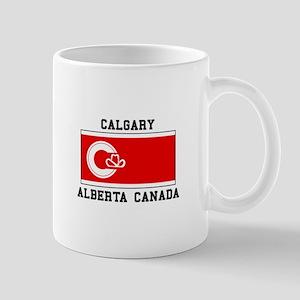 Calgary Alberta Canada Mugs