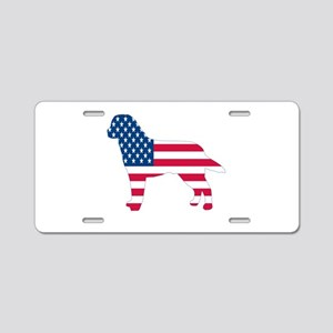 USA Labrador Aluminum License Plate
