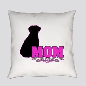 Girly Labrador Mom Everyday Pillow