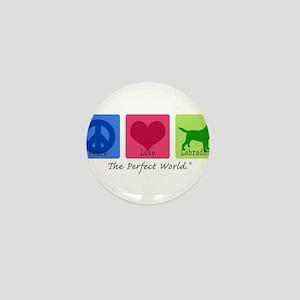 Peace Love Labs Mini Button