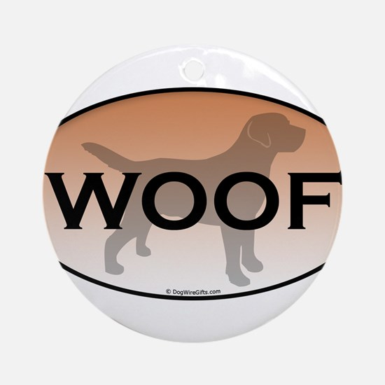Woof.png Ornament (Round)