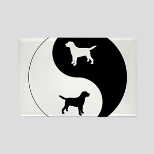Yin Yang Lab Rectangle Magnet