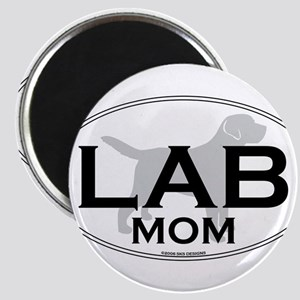 Labrador Mom II Magnet