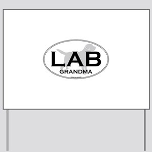 LAB GRANDMA II Yard Sign