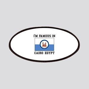 """I""""M Famous In Cairo Egypt Patch"""