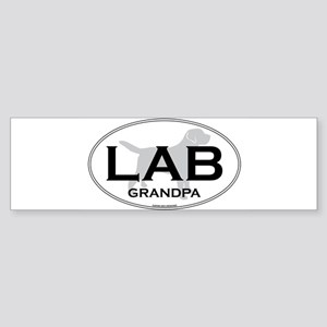 LAB GRANDPA II Sticker (Bumper)