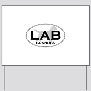 LAB GRANDPA II Yard Sign