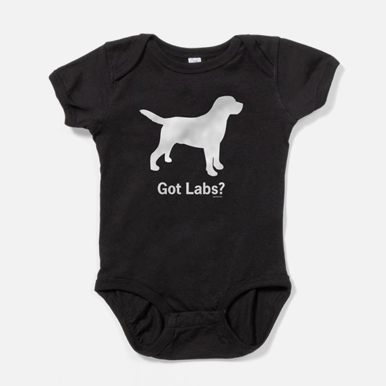 Got Labs? Silhouette Baby Bodysuit