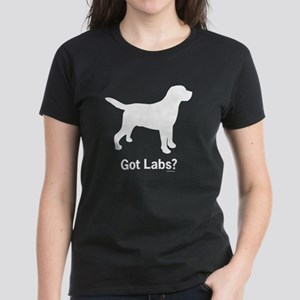 Got Labs? Silhouette Women's Dark T-Shirt