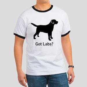 Got Labs? Silhouette Ringer T