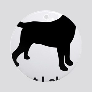 Got Labs? Silhouette Ornament (Round)