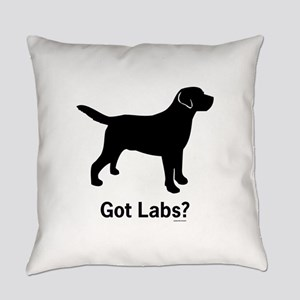 Got Labs? Silhouette Everyday Pillow