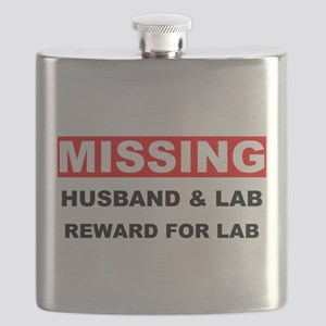 Missing Husband Lab Flask