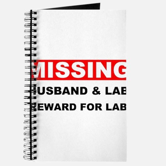 Missing Husband Lab Journal