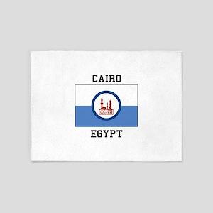 Cairo Egypt 5'x7'Area Rug