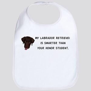 Smart Labrador Retriever Bib