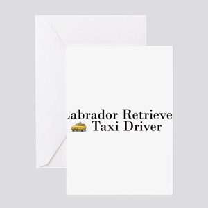AllLabTaxiDriver Greeting Card