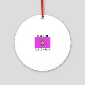 Made In Cadiz Spain Ornament (Round)