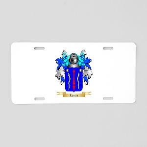 Lancia Aluminum License Plate