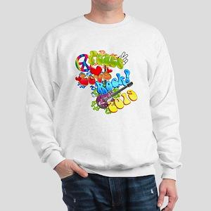 Peace Love Rock 2019 Sweatshirt