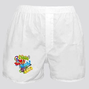 Peace Love Rock 2019 Boxer Shorts