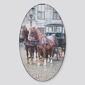 Carriage for Princess Sticker (Oval)